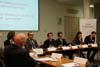 Okrągły stół na temat umowy handlowej Unia-USA z udziałem Eleny Bryan, starszego przedstawiciela handlowego USA przy Unii Europejskiej - 6 luty 2014 r. w Warszawie